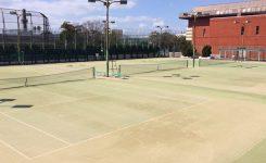 テニスコート改修工事
