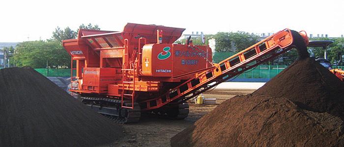 自走式土壌改良マシン