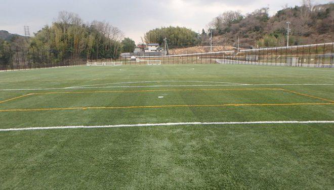 人工芝サッカー場メンテナンス