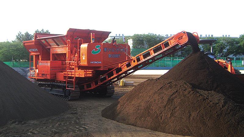汚染土壌リサイクル