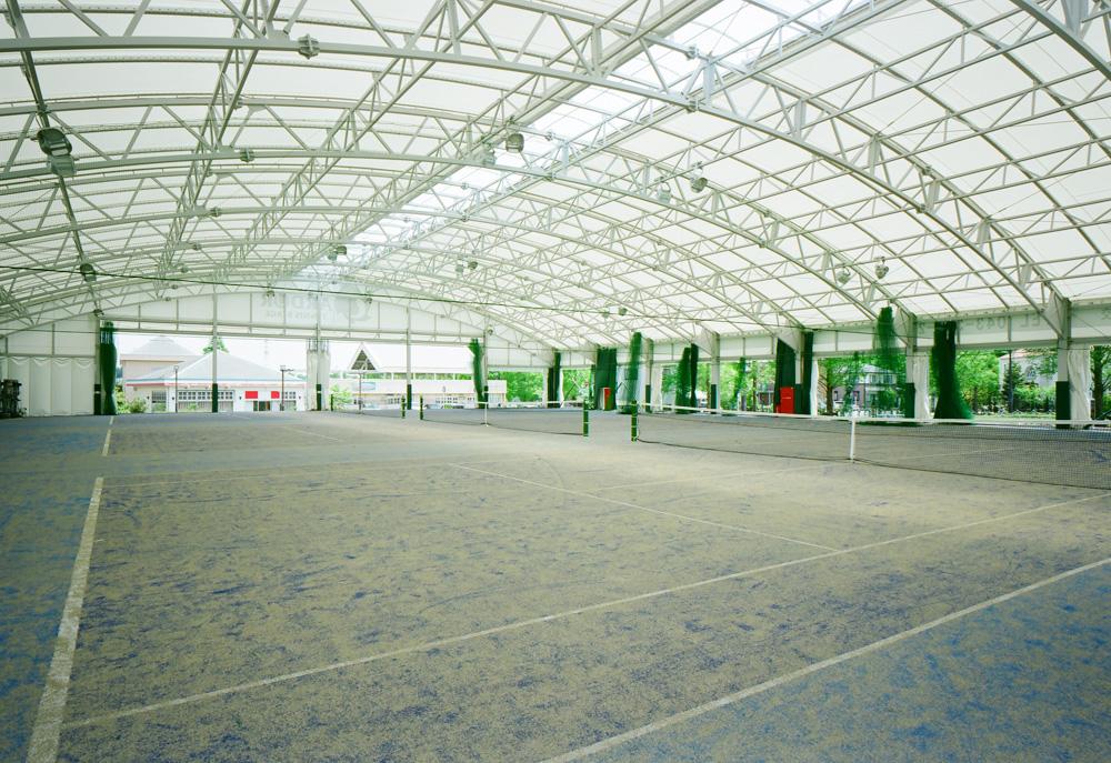 インドアテニス施設建設