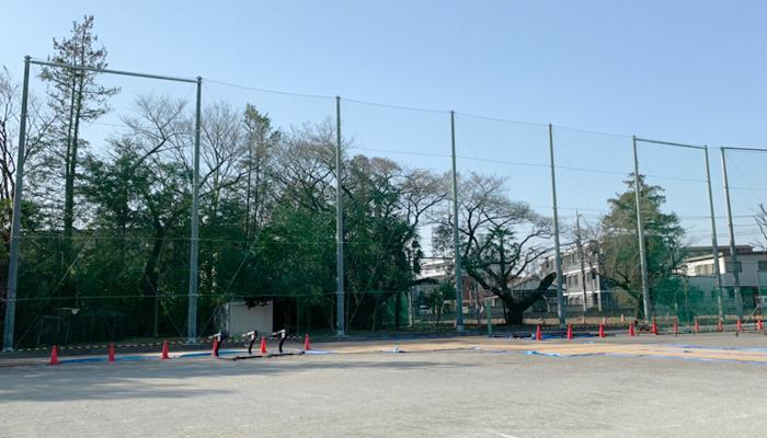 防球ネット工事