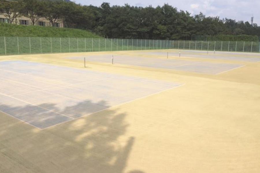 砂入り人工芝舗装